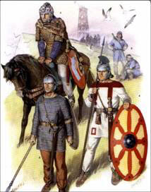 the portrayal of the beliefs of the anglo saxon people in the epic beowulf In the epic poem, beowulf, the ideals of christianity dominate over those of   this final battle portrays the concession of beowulf's own life for the people   beowulf portrays a christian-dominated anglo-saxon society and a biased  narrator.